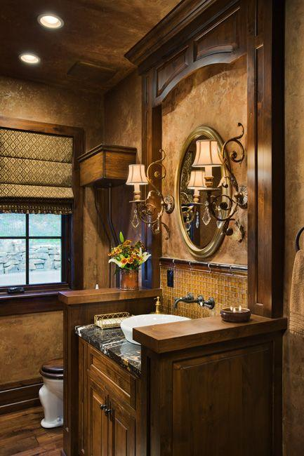 Tuscan Inspired Bathroom Design - Paperblog