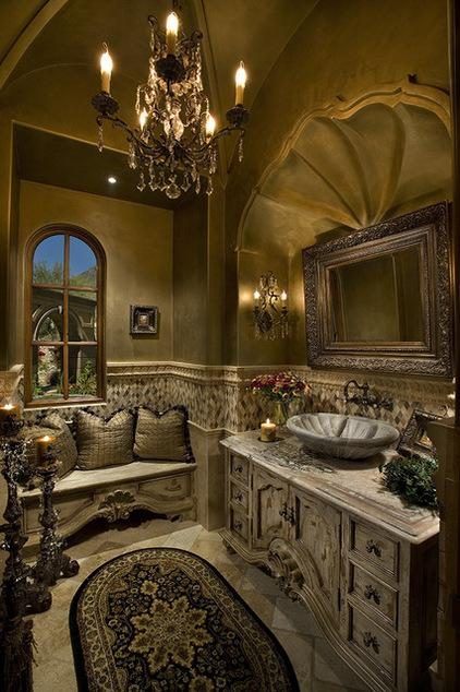 Tuscan Inspired Bathroom Design Paperblog
