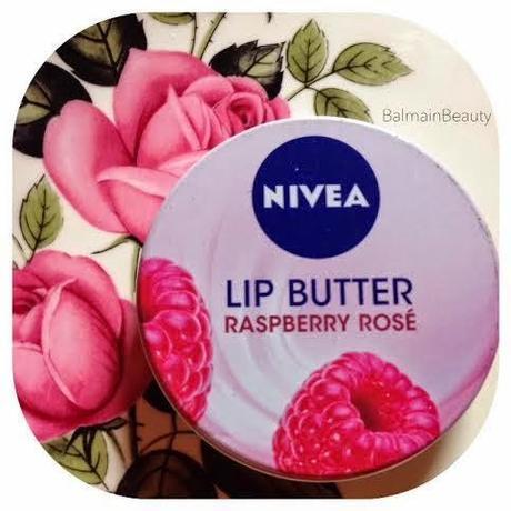 Nivea : Raspberry Rose Lip Butter