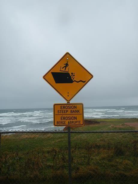 Prince Edward Island lighthouse sign