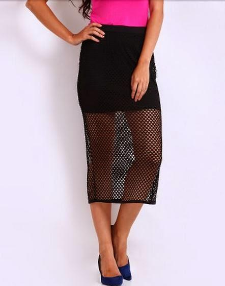Style Steal : Mesh Skirts