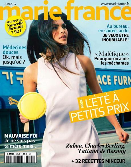 alicia ruelas for marie france magazine france june 2014 paperblog. Black Bedroom Furniture Sets. Home Design Ideas