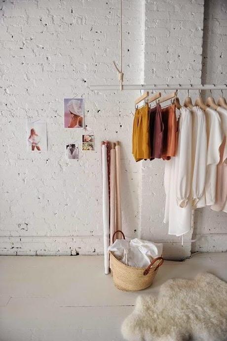 wood and white loft
