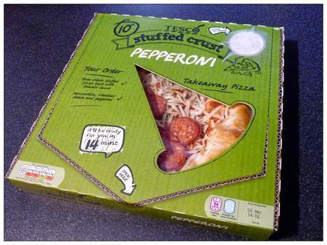 Tesco Stuffed Crust Pepperoni Takeaway Pizza