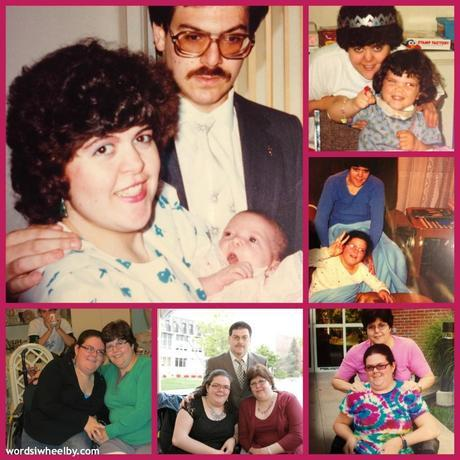 Pictures of Ellen Ladau and Emily Ladau in honor of Mother's Day.