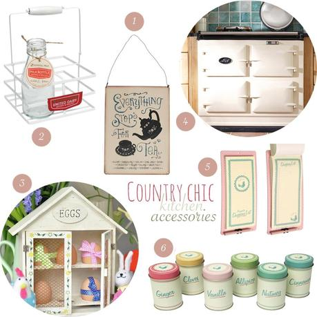 Country Chic Kitchen Accessories