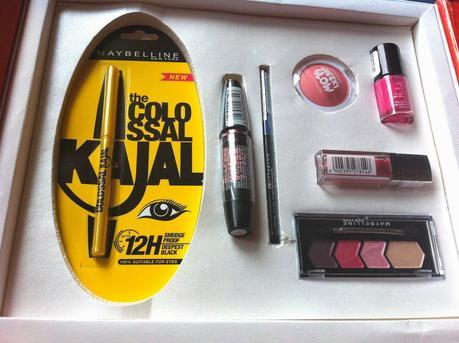 Maybelline InstaGlam Box Wedding Edition (Pink) - Review and Pictures