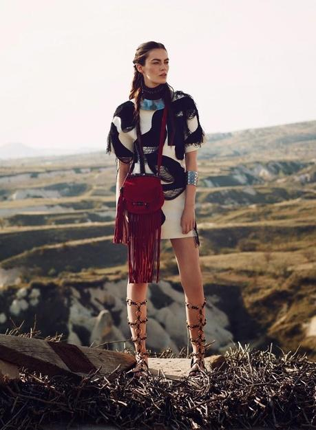 Patrycja Gardygajlo in Vogue Turkey by Emre Guven