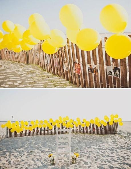 Beach Proposal with a Barbershop Quartet