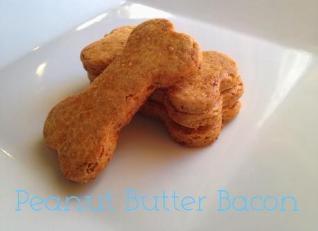 Peanut Butter and Bacon Bones