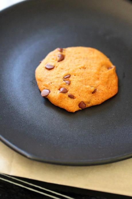 cookies. We halved the recipe because it makes two dozen large cookies ...