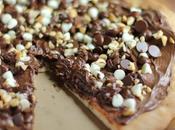 Nutella Chocolate Pizza Recipe