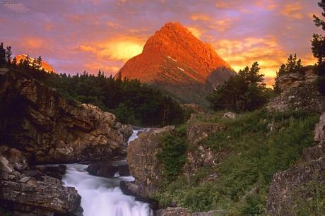 mount grinnell montana paperblog