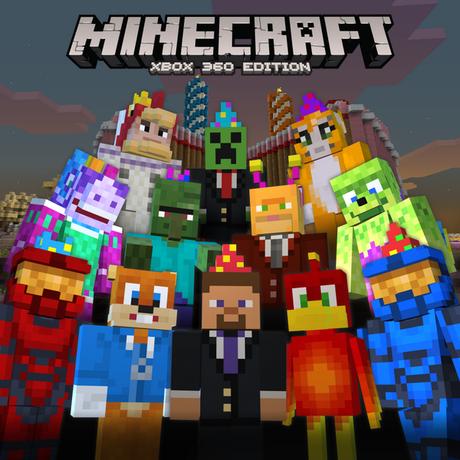 Minecraft xbox 360 celebrates 2nd birthday with free skins for Mine craft for xbox