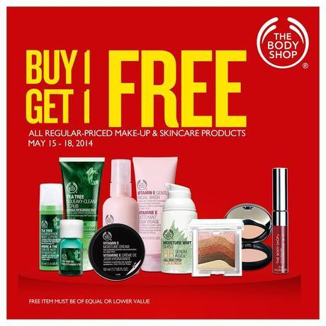 The Body Shop Buy 1 Take 1 Promo
