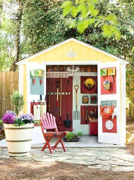 oraganised shed