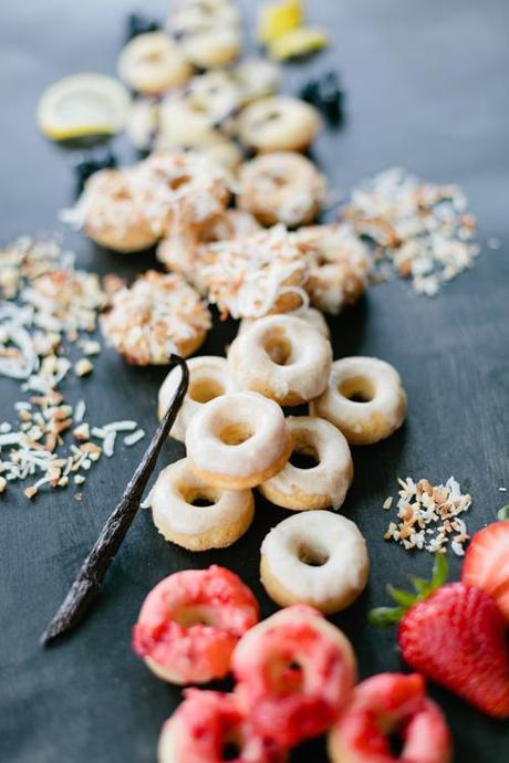 Mini Baked Donuts - Paperblog