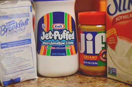 Fluffer Nutter Breakfast Shake