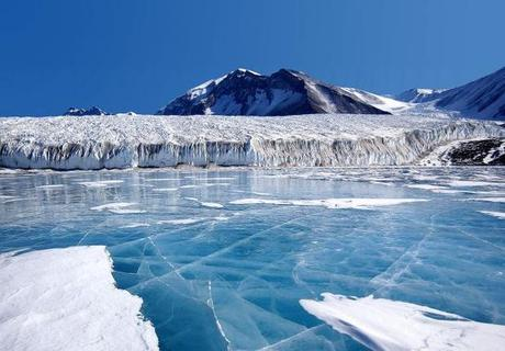 Melting Ice in Antarctica
