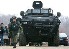 The firepower used by the FBI raid on the Hutaree militia was described as