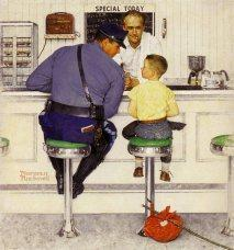 What happened to the friendly cop on the corner? Where is the kindness we remember?