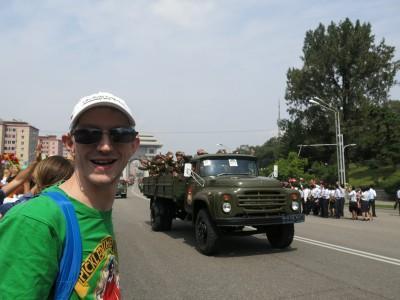 massive north korean army