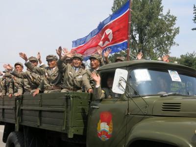 north korean army parade