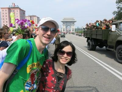 pyongyang military parade