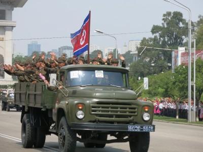 north korea army parade