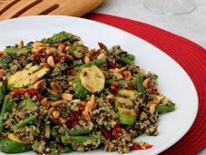 Rainbow Nation Quinoa Salad