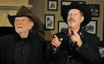 Willie And Kinky On The Radio Today