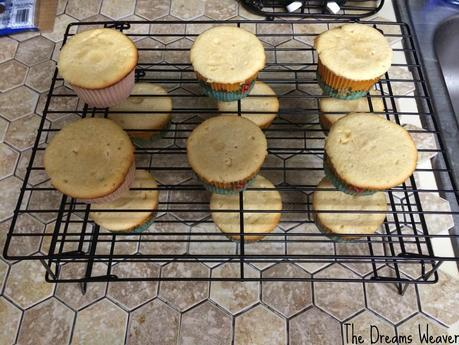 Chocolate Filled Vanilla Cupcakes~ The Dreams Weaver