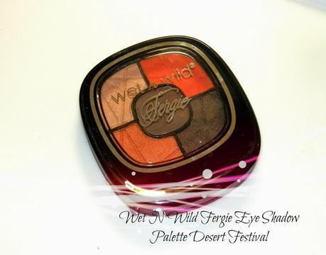 Wet N Wild Fergie Eye Shadow Palette Desert Festival Swatches
