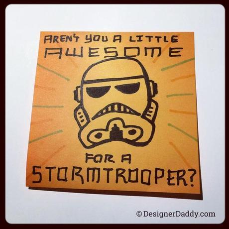superlunchnotes - stormtrooper