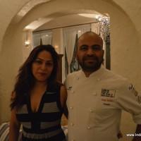 Pooja Sharma & Chef Sujan sarkar