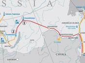Russia's Gazprom Supply Pipeline Natural China