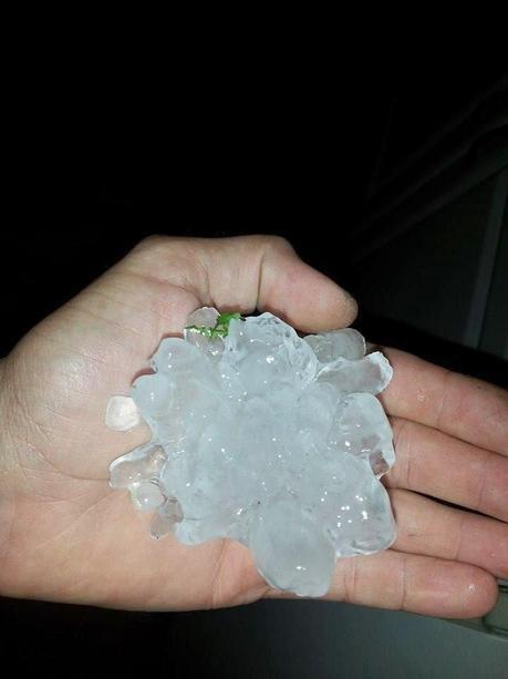 Crazy hailstorm in Denver and Pennsylvania, photos