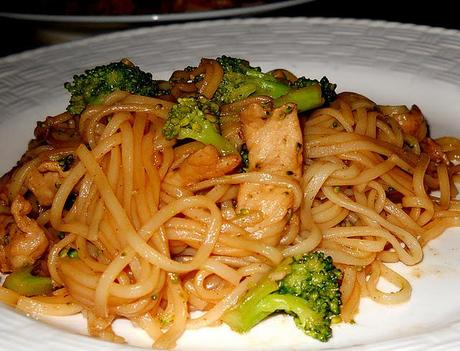 Tasty Tuesday Link up- Thai Fried Noodles With Pork