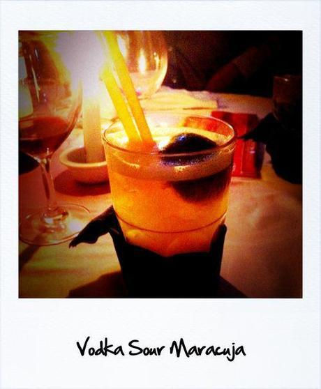 Vodka sour maracuja