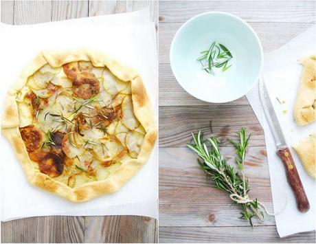Potato and Rosemary Galette And Breath of Summer