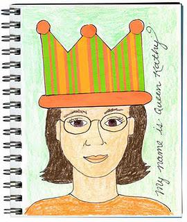 """Queen for a Day"" Art Journal Page"