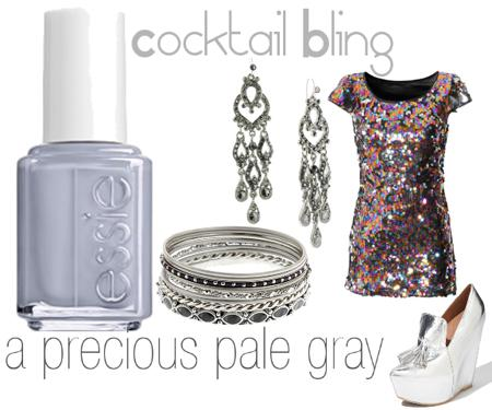 ESSIE Cocktail BlingCocktail Bling: Winter Nail Polish Colors