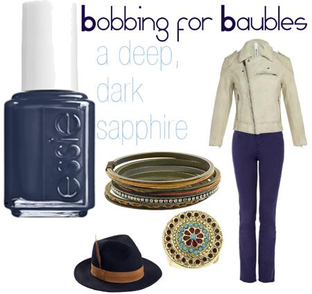 ESSIE Bobbing for BaublesCocktail Bling: Winter Nail Polish Colors