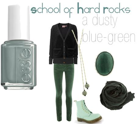 ESSIE School of Hard RocksCocktail Bling: Winter Nail Polish Colors