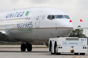 United Airlines' Inaugural Biofuel Powered Flight