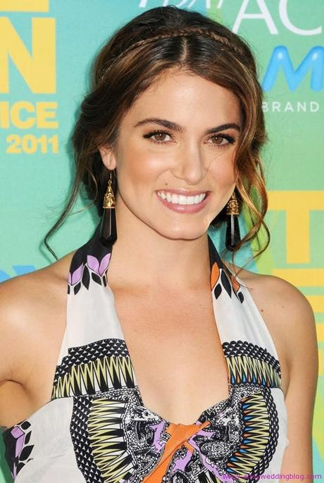 Music festival theme created for Nikki Reed's wedding