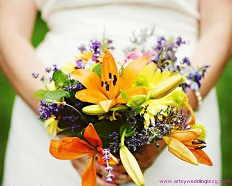 Ideas on Wildflower Wedding Inspiration A wildflower themed wedding is one
