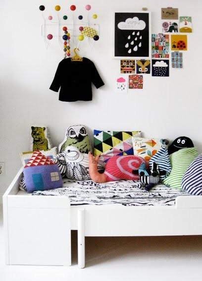 Kids Rooms {Wall Decoration Ideas}