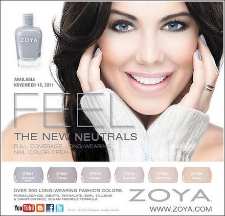 Upcoming Collections: Nail Polish Collections: Zoya: Zoya Feel Collection For Winter 2011