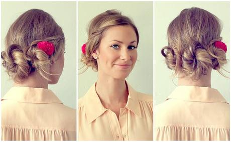 DIY: Triple Knot Buns
